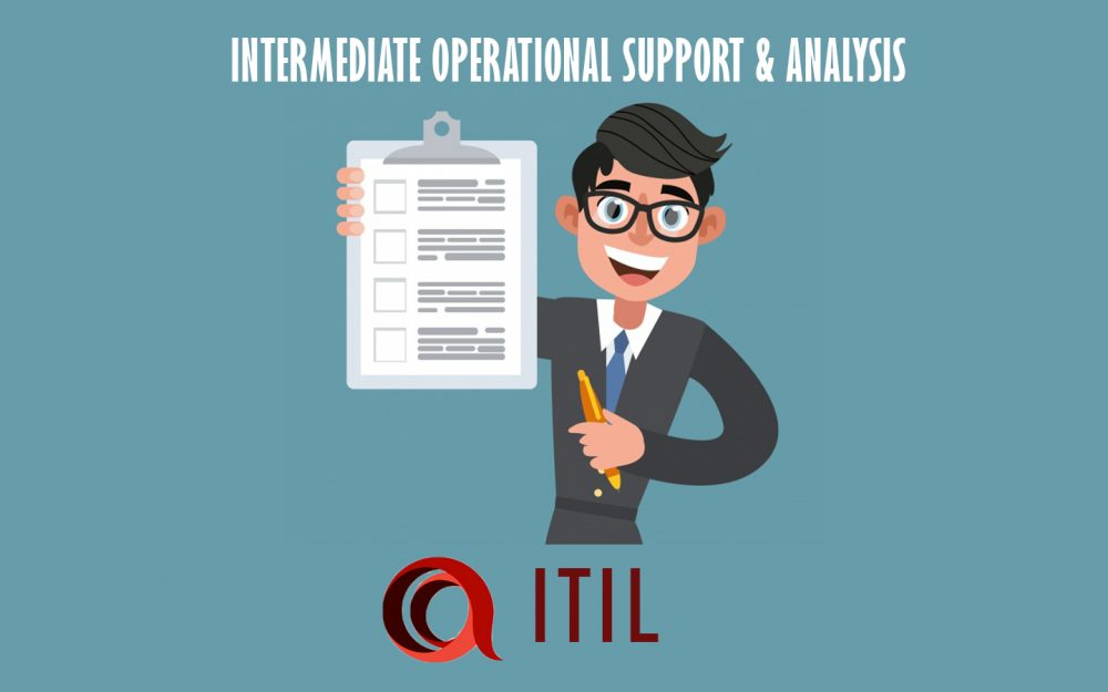 Itil Intermediate Operational Support Analysis E Learning